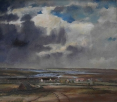 #143 Brancaster Norfolk after Seago 65x76cm Hollingsworth Paul