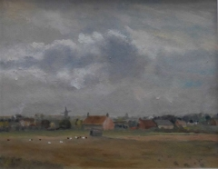 #150 Cley, Norfolk after Seago 36x46cm Hollingsworth Paul
