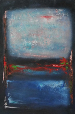 #267 Window on the World after-Rothko 76x51cm Hollingsworth Paul